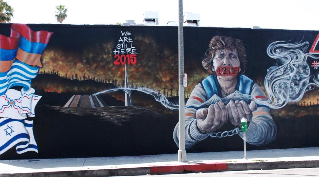 Armenian Genocide Anniversary Sparks Fiery Art in Los