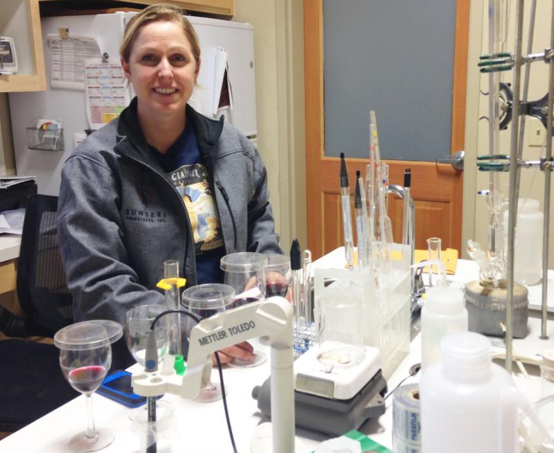 Winemaker Aimee Sunseri