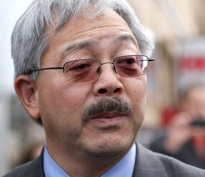 San Francisco Mayor Ed Lee announced a proposal to purchase 1,600 to 1,800 police body cameras over the next two years.