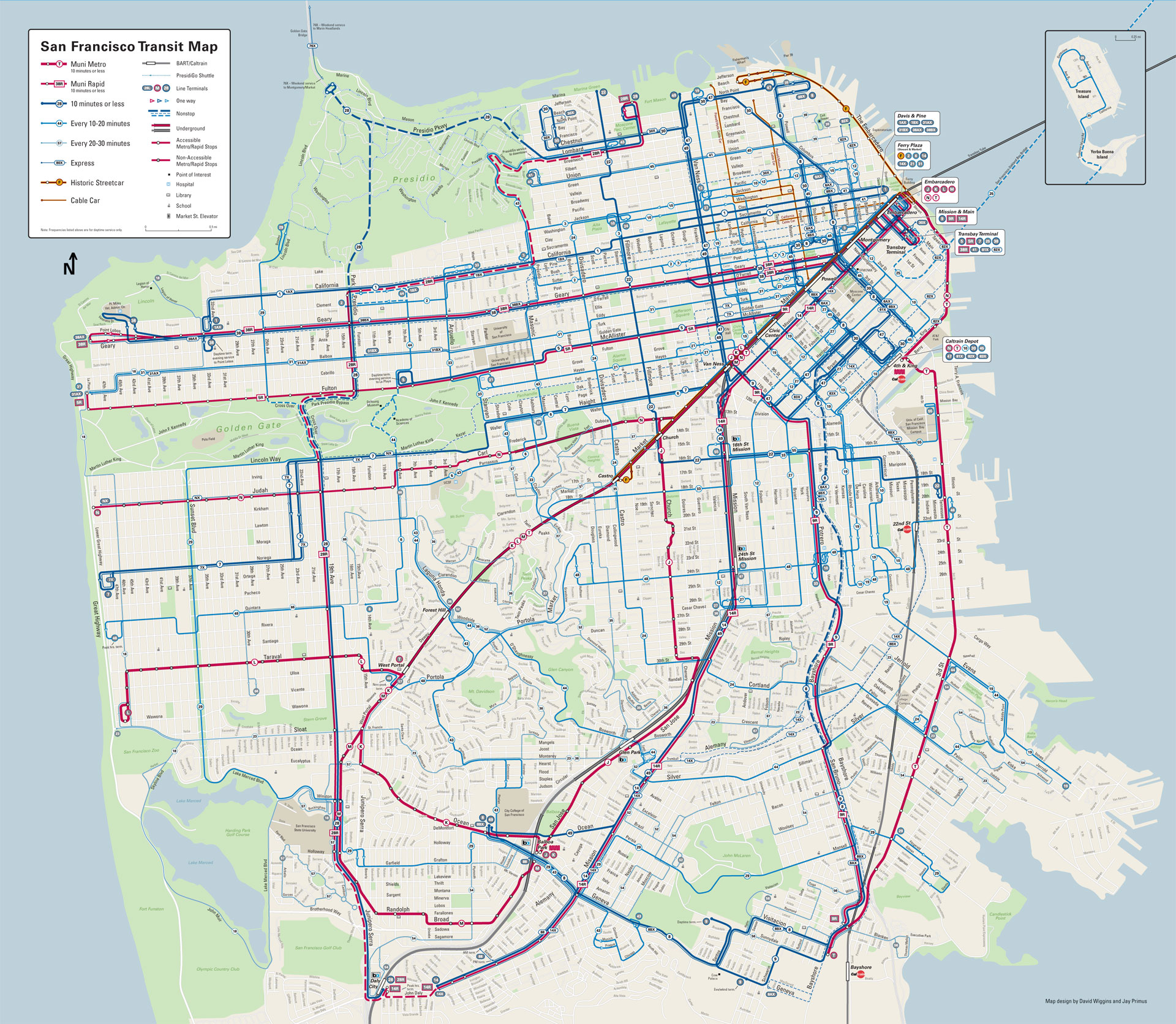N Owl Muni San Francisco Muni-Map-2015