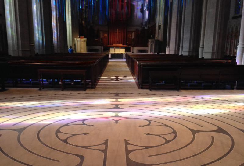 My Spot: Walking Grace Cathedral's Labyrinth | My Spot | The