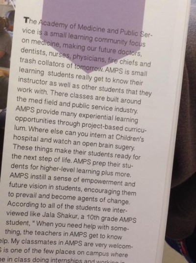 The excerpt from the Berkeley High School 2015 yearbook that triggered a recall.