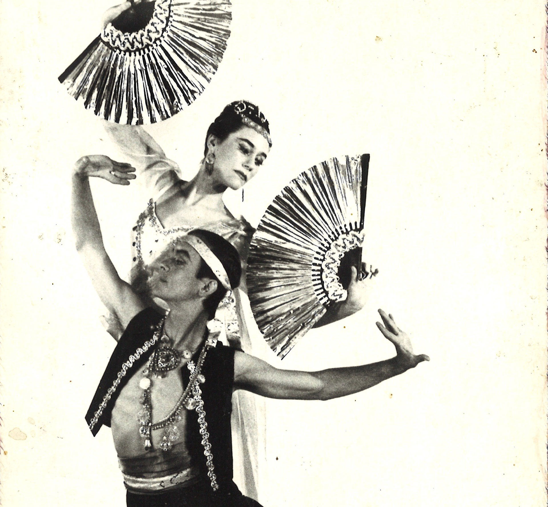Carlos Carvajal performs a Filipino dance in the 1960s. Carvajal is now the co-artistic director of the San Francisco Ethnic Dance Festival.