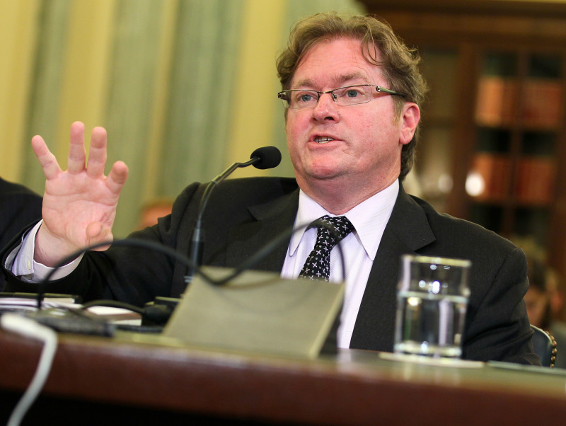 Paul Clanon speaks at a September 28, 2010 Senate committee hearing on gas pipeline safety.
