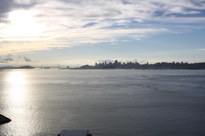 The San Francisco skyline September 2013. Alex Emslie/KQED