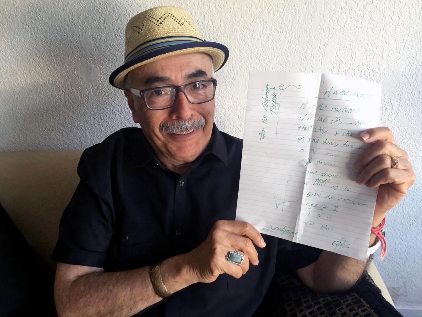 In the Studio With Juan Felipe Herrera: So Much to Say
