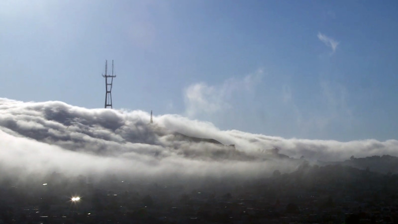 sutro in the clouds