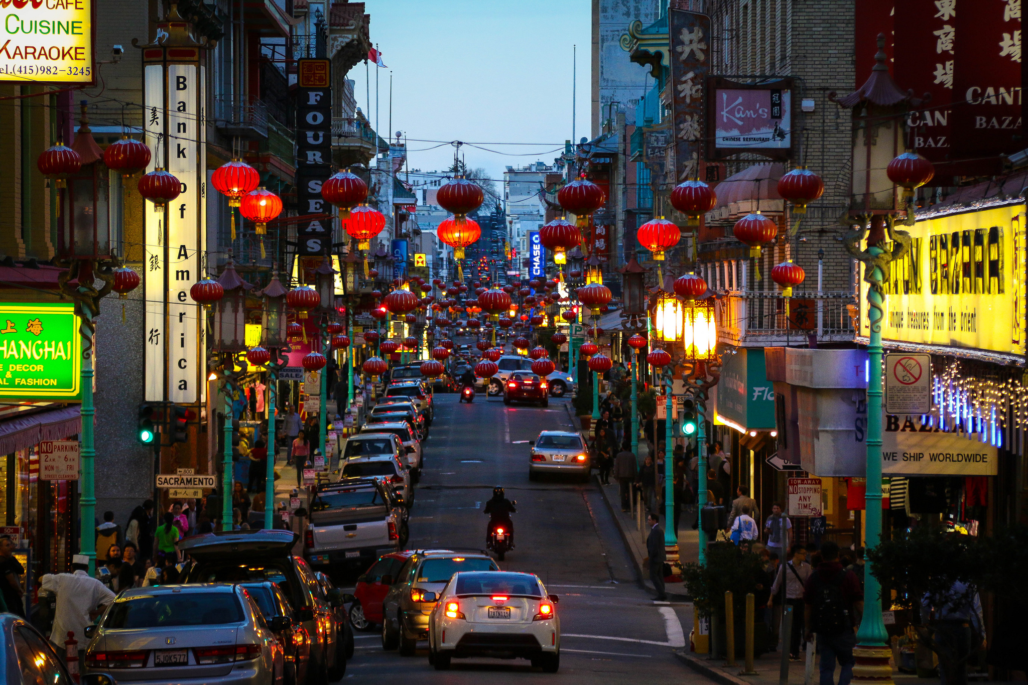 Some residents in Chinatown take precautions in case they are suddenly evicted.