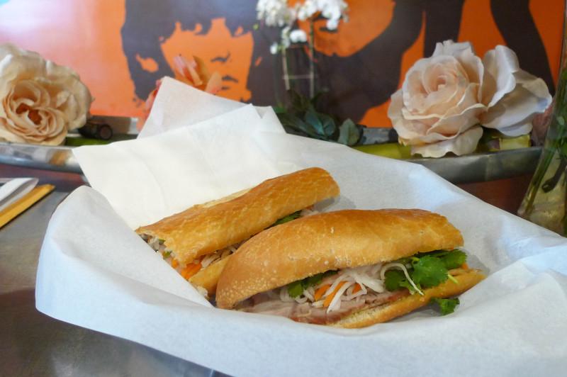 One of Lynda's signature bánh mì.