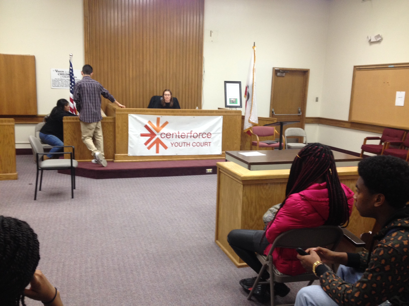 Centerforce Youth Court in Oakland serves offenders charged with first-time misdemeanors.