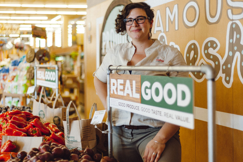 Meg Burritt, director of wellness and sustainability at Raley's.