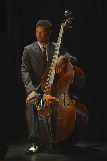 "Bassist Marcus Shelby composes music for and performs in Anna Deavere Smith's ""Notes from the Field: Doing Time in Education, The California Chapter"""