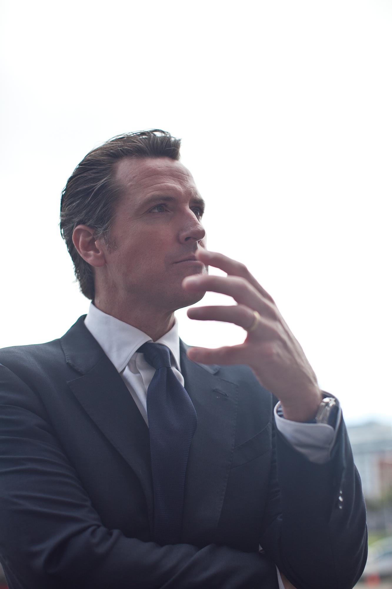 Gavin Newsom in 2013.
