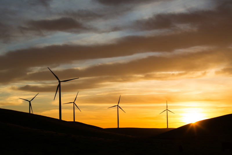Wind power is an important part of California's energy plan.