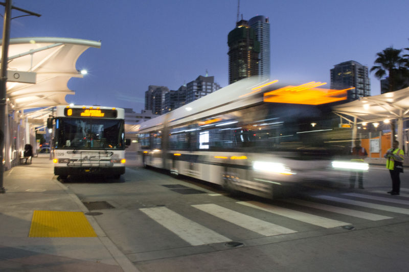 Some Democrats want to use cap-and-trade money for public transit needs.