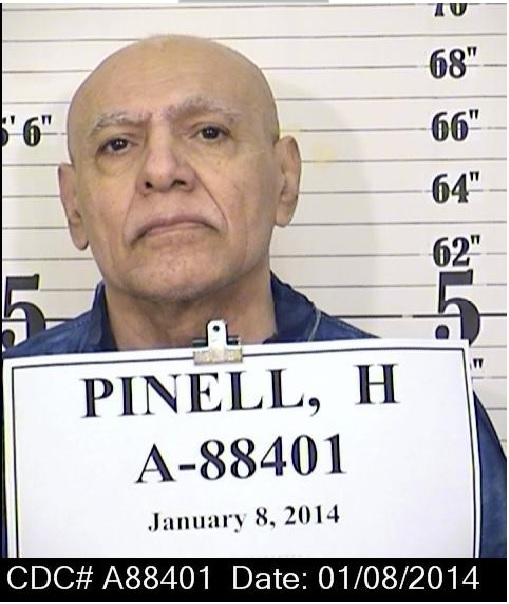 Hugo Pinell, 71, was killed in an exercise yard at California State Prison, Sacramento, Aug. 12. The slaying sparked a prison riot involving about 70 inmates.