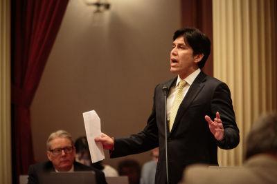 State Senate President pro Tem Kevin de León is the author of SB 350.