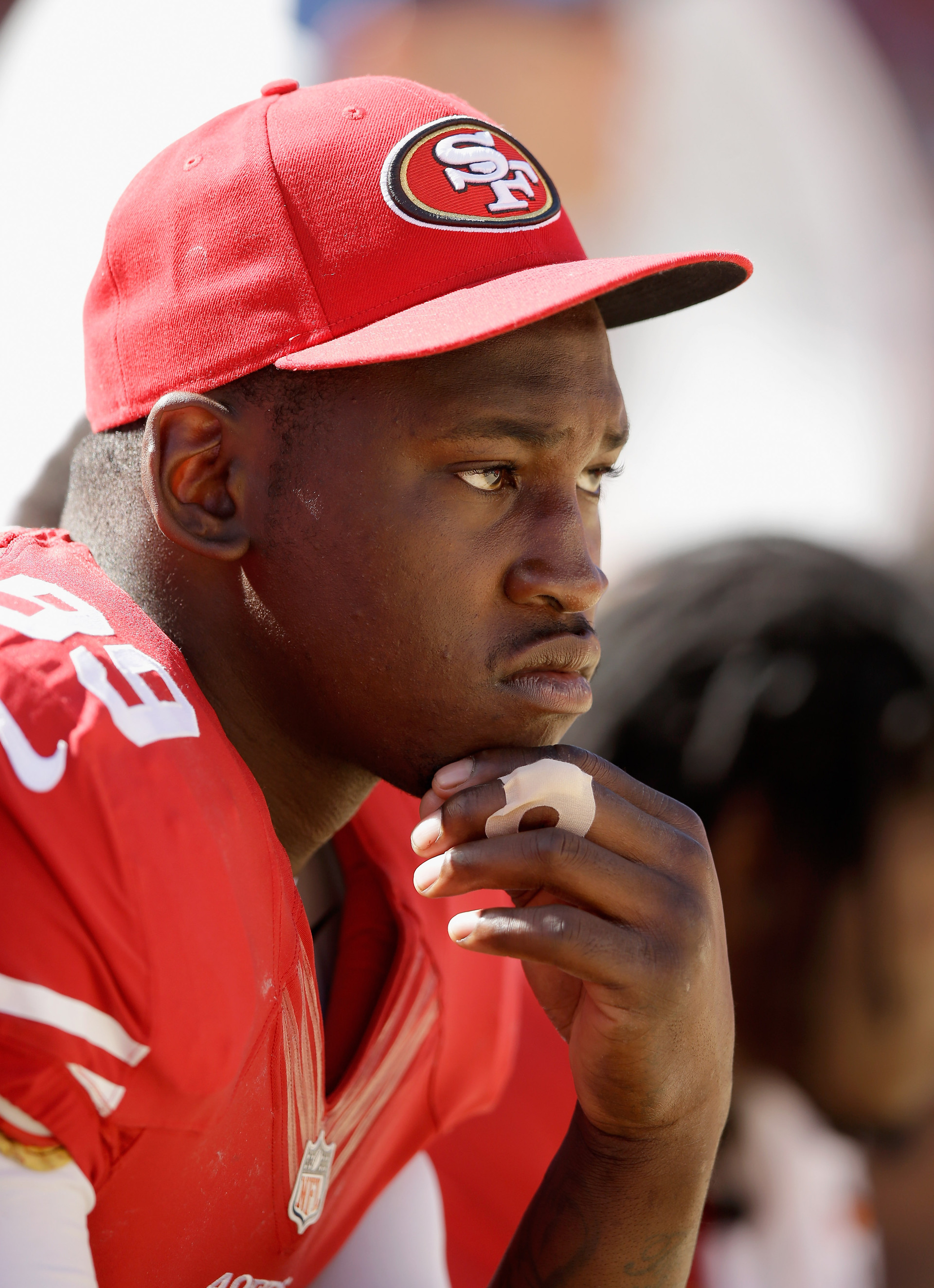 File photo of Aldon Smith at a preseason game in August, 2014.