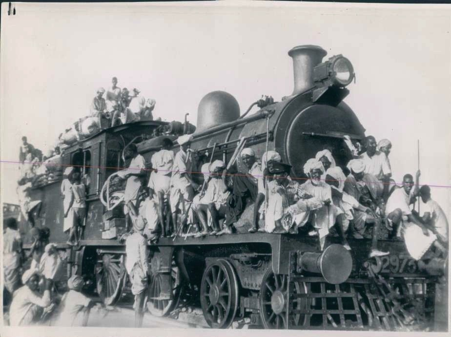Millions of people were displaced from their ancestral homes as partition divided South Asia along religious lines. Many refugees took the harrowing journey via train.