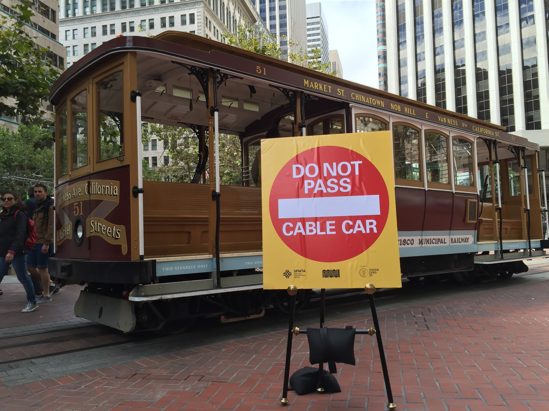 San Francisco officials are launching an effort to protect cable car operators after two of them were severely injured this year.
