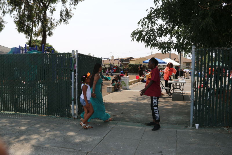 The gates of Tyrone Carney Park are open to residents for the first time since 2002.