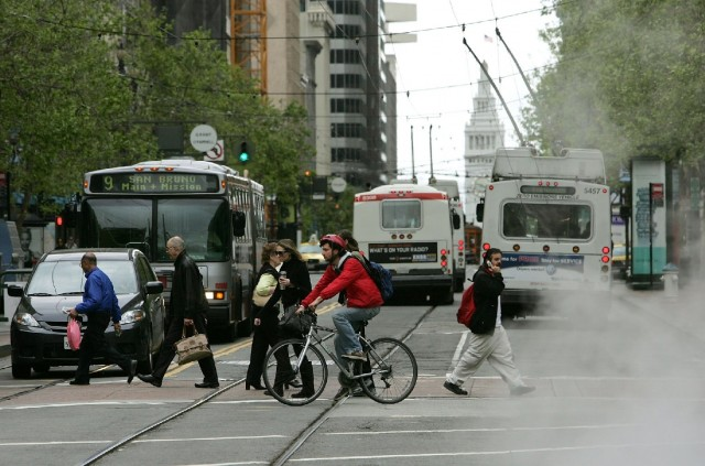 Turns Onto Market Street in Downtown San Francisco to be Restricted Starting Tuesday