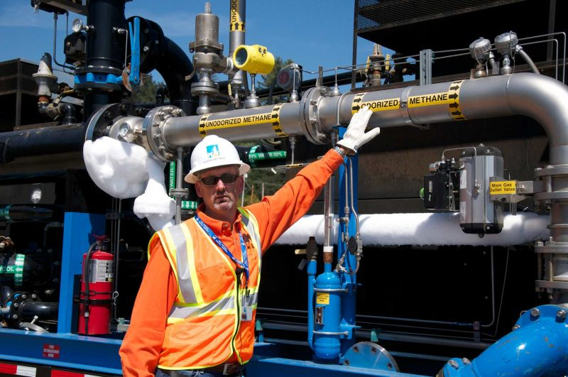 Austin Hastings spent a year preparing for a hydrostatic test in Santa Cruz. His crew made sure that about 44,000 area residents would receive natural gas during the test.