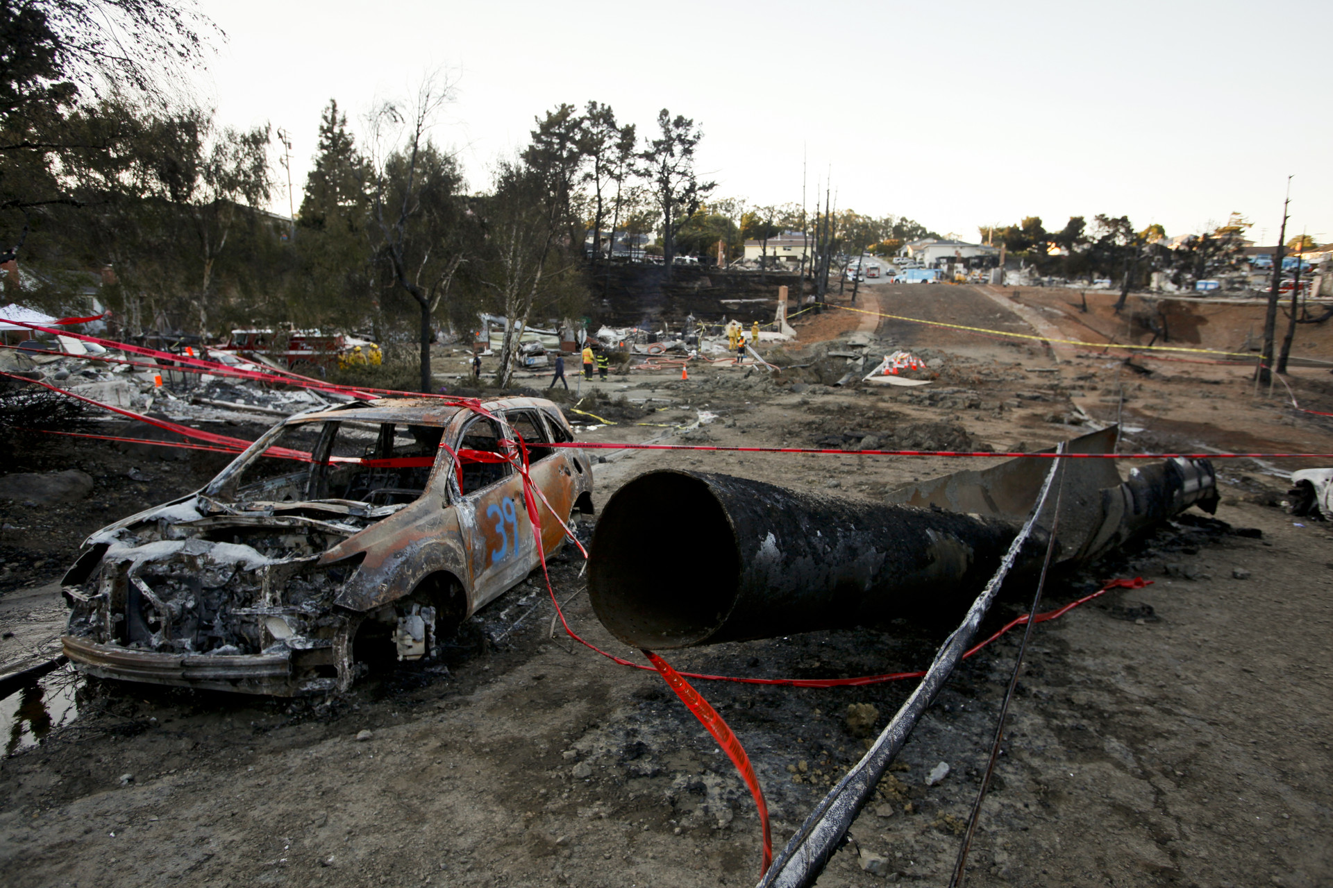 The explosion was so powerful that a 3000 pound steel pipe segment was found 100- & Five Years After Deadly San Bruno Explosion: Are We Safer? | The ...