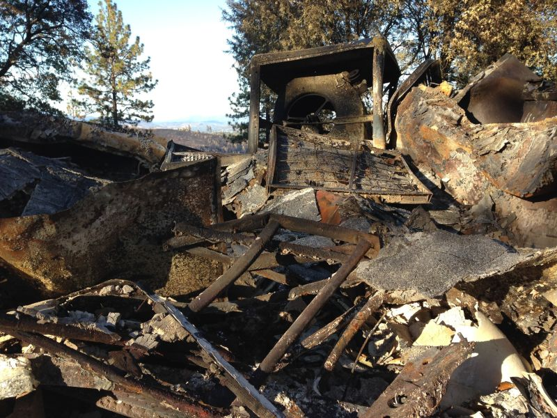 More than 1,200 homes were reduced to twisted metal and ash in the destructive Valley Fire.