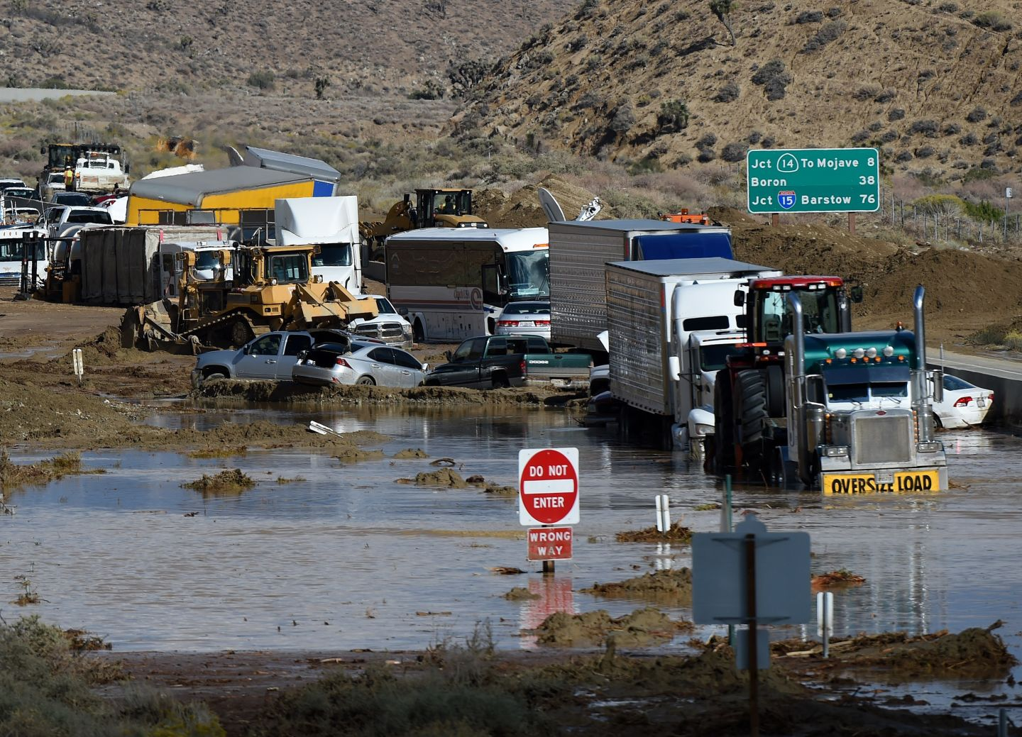 One Southern California Highway Still Closed After Mudslides