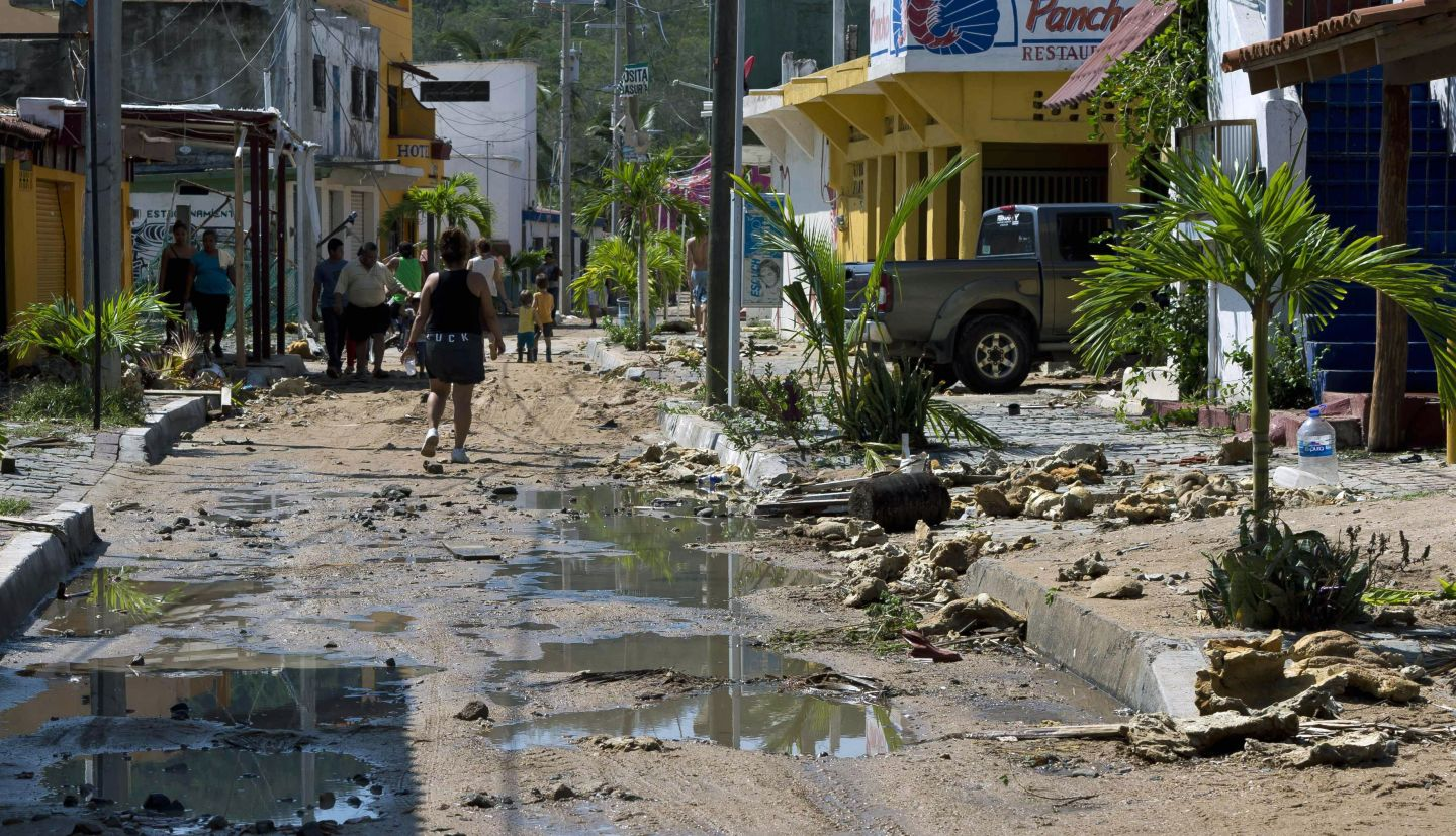 Mexico Counts Up the Cost After Encounter With Hurricane Patricia