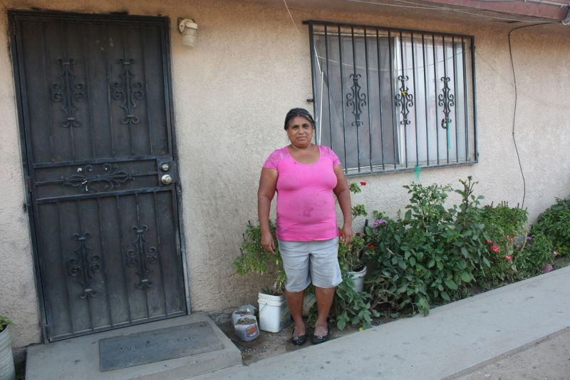 Maura Lukas and her husband have only been able to pay the landlord half the rent for months, and are struggling to make meals stretch to feed her family.