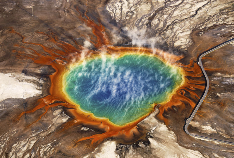 Grand Prismatic Spring in Yellowstone National Park is one of Jassen Todorov's favorite subjects.