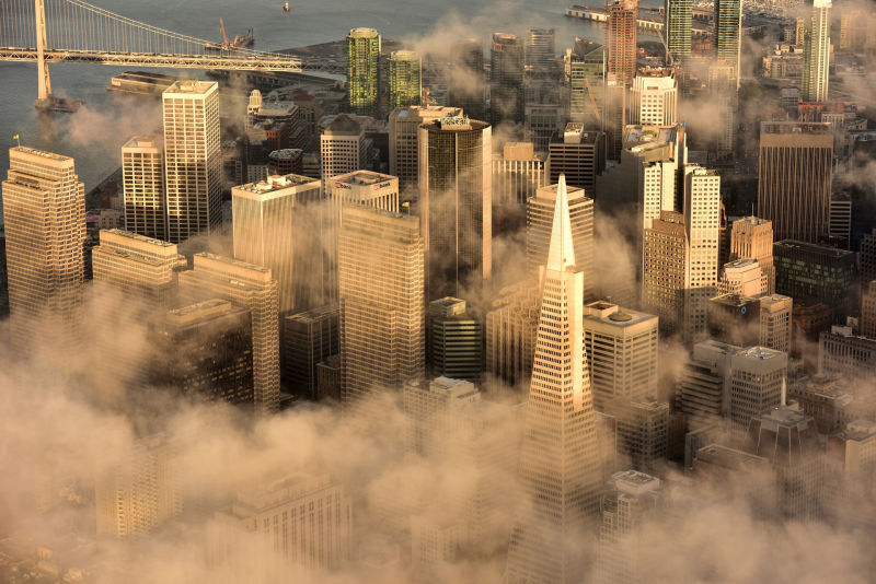 Jassen Todorov has taken many photographs of downtown San Francisco in all kinds of weather.