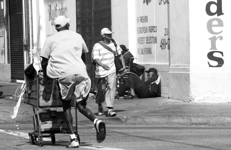 Many homeless people come to Skid Row because they could not find housing and services in their own communities.