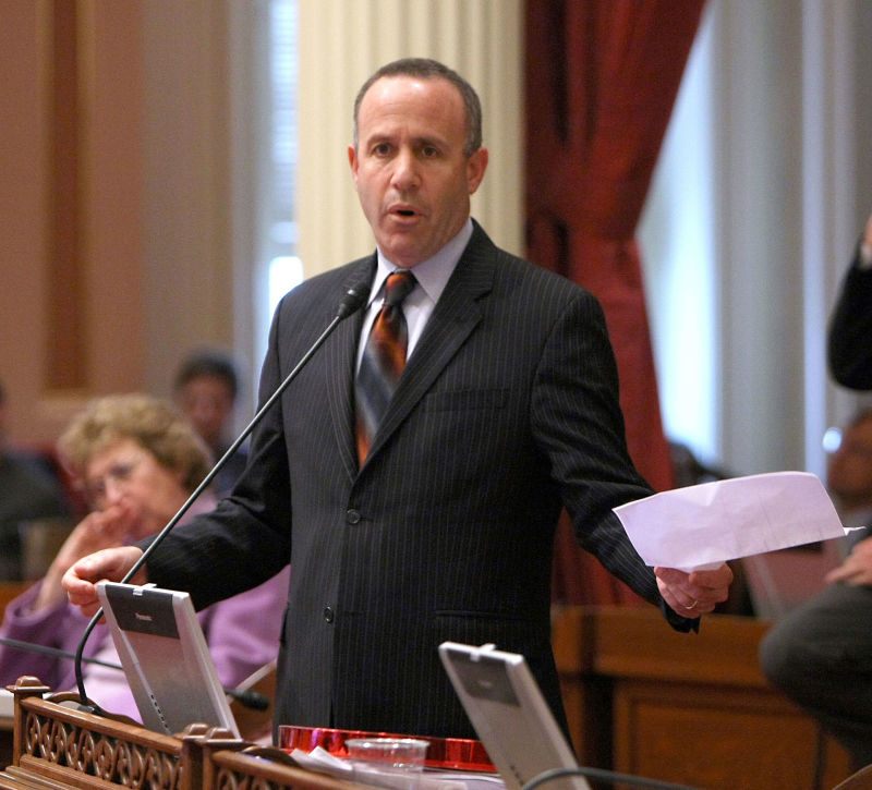 Former state Senate leader Darrell Steinberg, seen here in 2009.