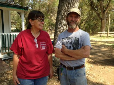 Dan Turner and Louise Culver have run Critter Creek Wildlife Station for 30 years.