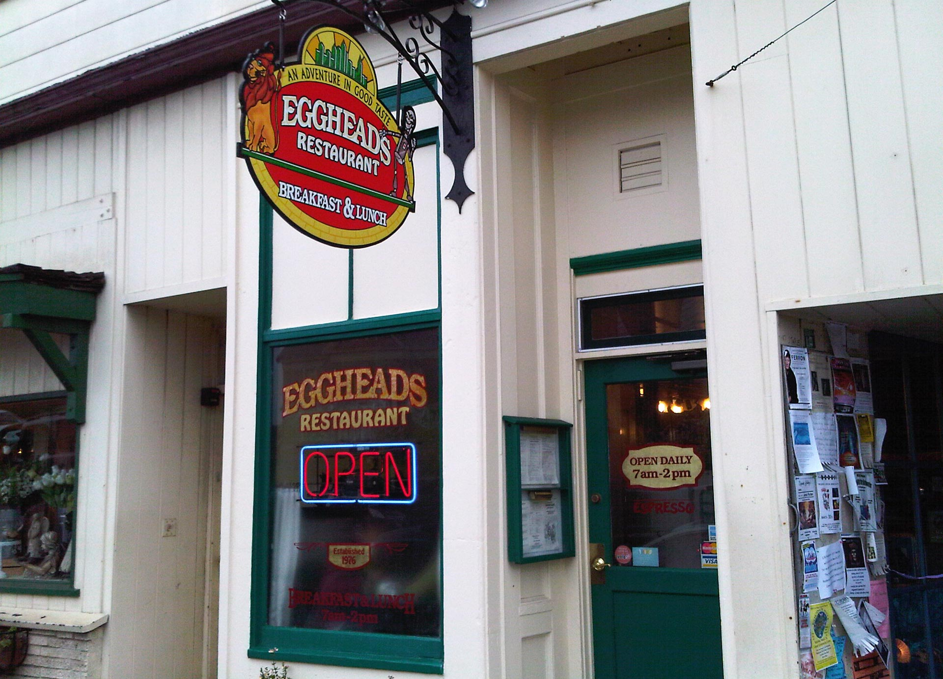 Eggheads restaurant in Fort Bragg says it will continue to serve on paper as long as the Stage 3 water emergency is in effect.