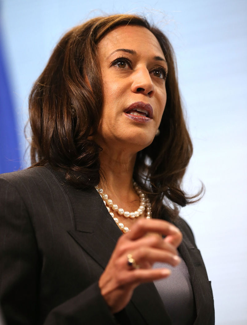 Calif. Attorney General Kamala Harris' office said JPMorgan used illegal threats and sued borrowers based on insufficient evidence, betting that they wouldn't challenge the lawsuits.