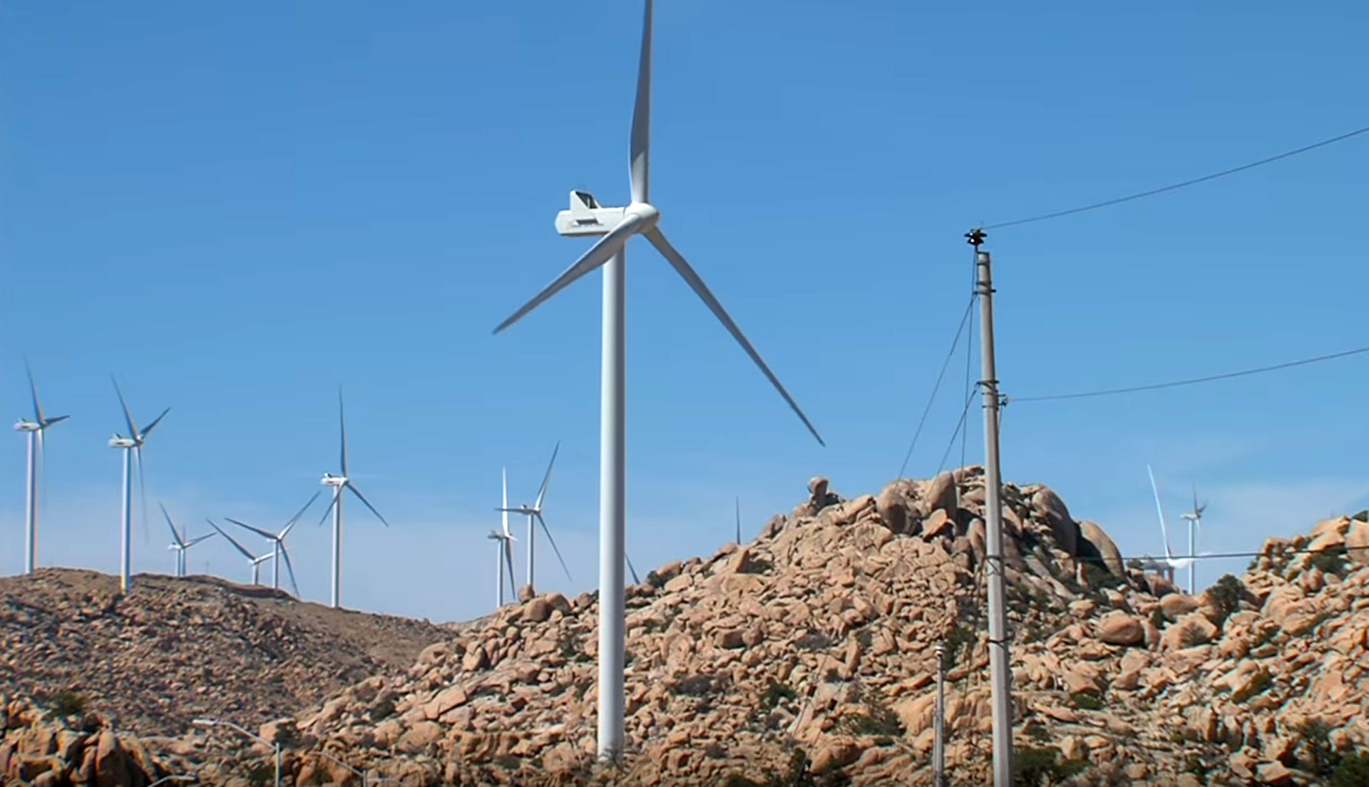 Energía Sierra Juárez is the first cross-border wind farm project between the U.S. and Mexico. Plans to extend capacity by 700 percent have been met with criticism of the potential environmental impact.