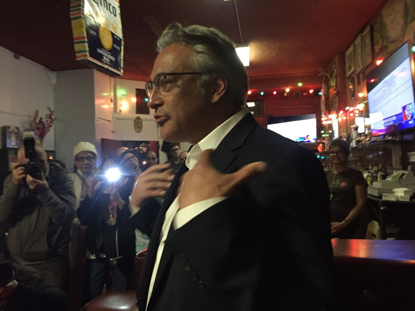 Mirkarimi Gets Swamped by Vicki Hennessy