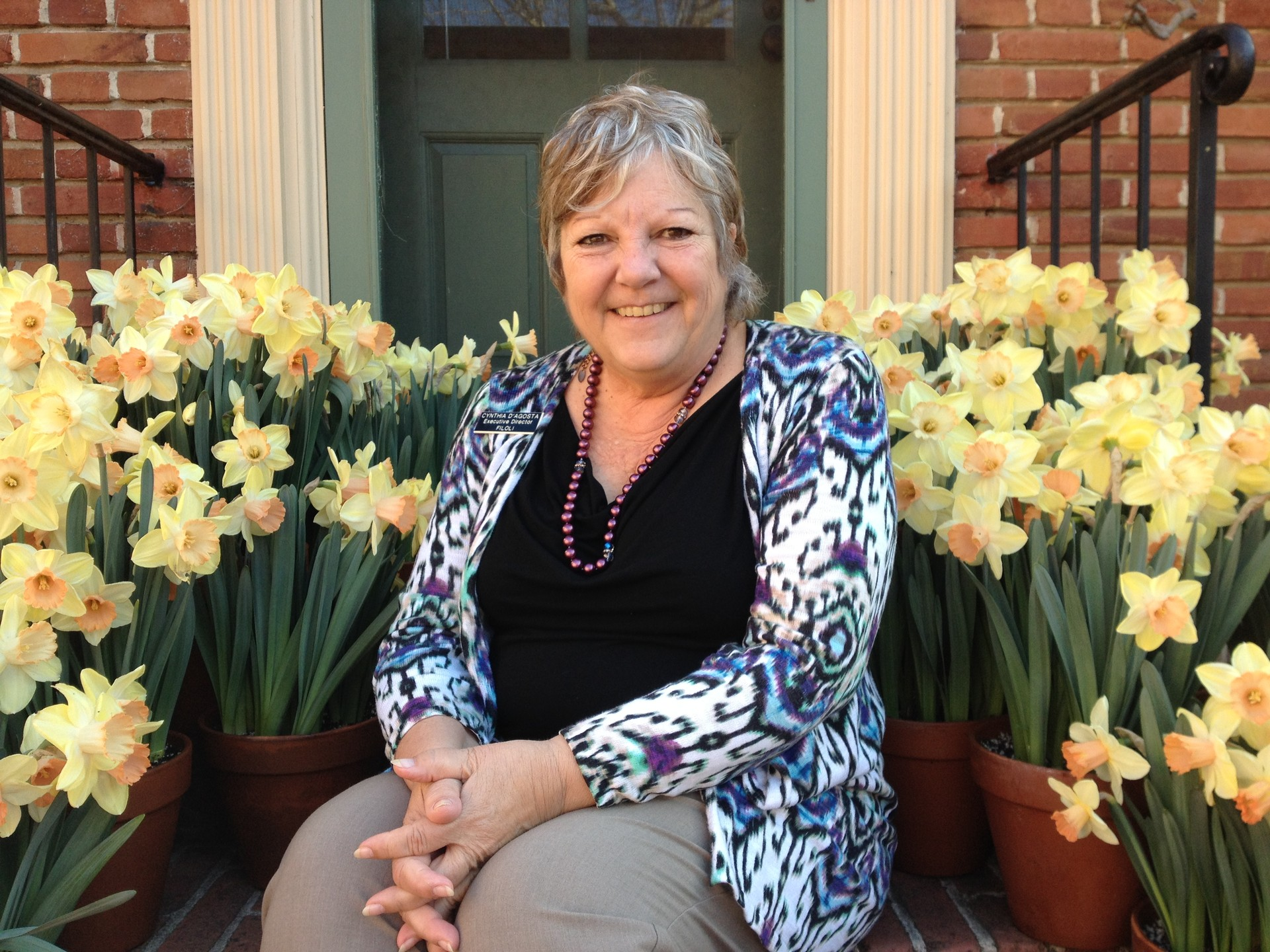 Cynthia D'Agosta has left her position at Filoli, a beloved California historical Landmark in Woodside.