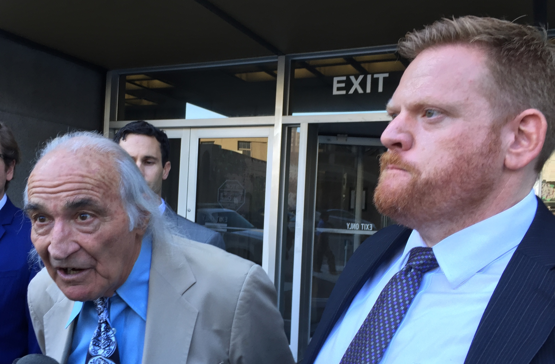 Raymond Chow's defense attorneys Tony Serra (left) and Curtis Briggs say witnesses testifying against their client in exchange for plea deals from prosecutors are not credible.