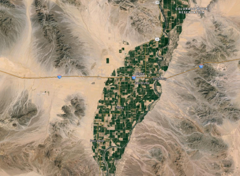 L.A. Water Agency's Desert Land Purchase Stirs Farmers' Fears | The on