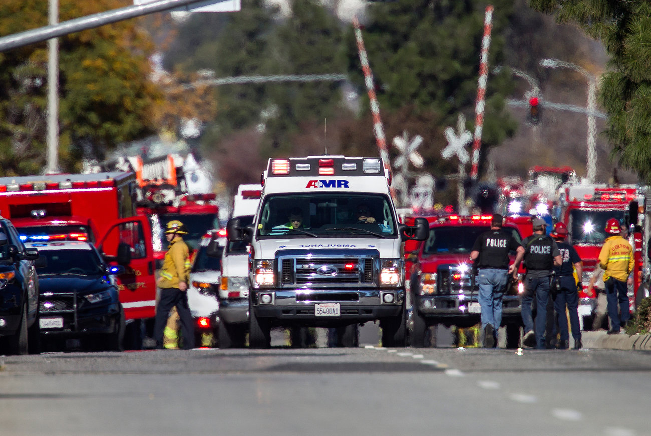 Fourteen people were killed and 17 wounded in the shooting at the center, a not-for-profit serving disabled clients, officials said.