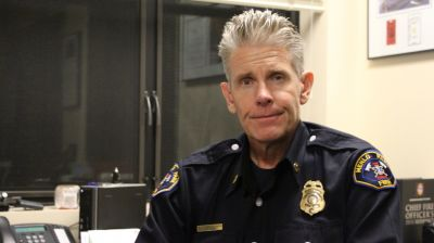 Menlo Park Fire Chief Harold Schapelhouman is concerned with the rise of emergency response time because of inescapable traffic on the Peninsula.