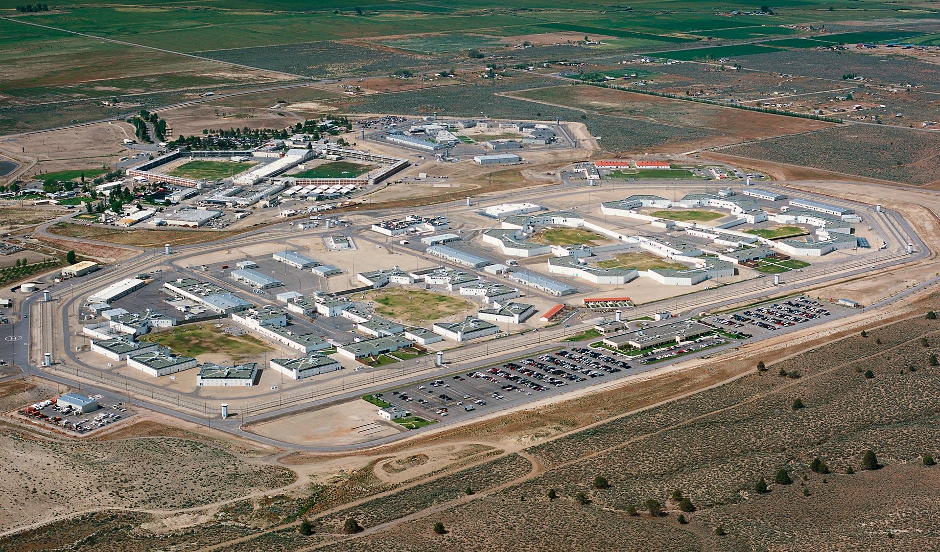 High Desert State Prison in Susanville, in Lassen County.