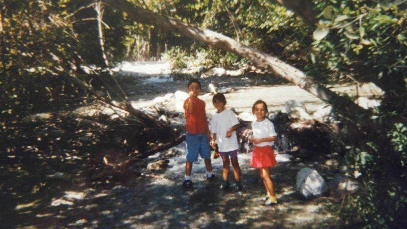 One of our trips to Lytle Creek.