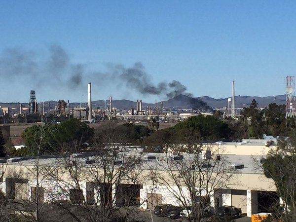 Martinez Refinery Incident Triggered When Someone Hit the Wrong Button