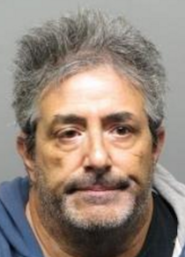 Booking photo of William Celli, 55, arrested for alleged death threats against members of a mosque in Richmond.